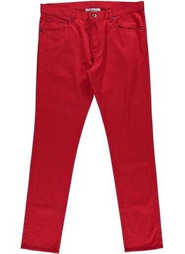 Moschino Jean Pantolon Kırmızı